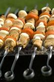 Kebab Fotografía de archivo libre de regalías