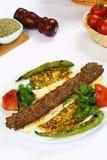 Kebab adana Turkish Стоковые Изображения