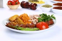 Kebab adana Turkish Стоковое Изображение RF