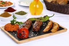 Kebab adana Turkish Стоковое Изображение