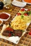 Kebab adana Turkish Стоковое фото RF
