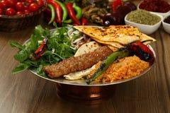 Kebab adana Turkish Стоковое Фото
