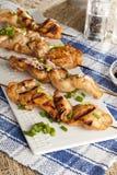 Kebab arrostito del pollo fotografie stock libere da diritti
