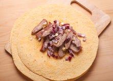 Kebab asado a la parrilla fresco del doner Fotografía de archivo libre de regalías