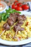 Kebab Aufsteckspindeln Stockbilder