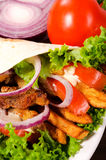 Kebab background Royalty Free Stock Photography