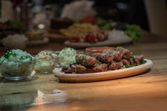 Kebab - carne arrostita fotografia stock libera da diritti