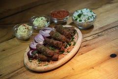 Kebab - carne arrostita immagine stock libera da diritti