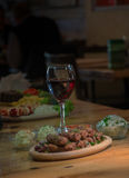 Kebab - carne arrostita fotografia stock