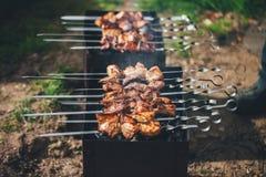 Kebab Cooking Stock Image