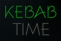 kebab czas Zdjęcia Royalty Free