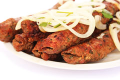Kebab da carne imagens de stock