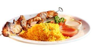 Kebab da carne Fotografia de Stock