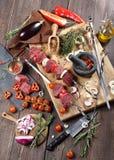 Kebab dal controfiletto del manzo Immagine Stock