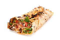 kebab de doner Images stock