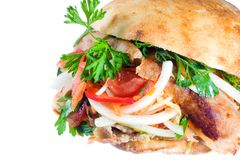 Kebab de Doner. fotografía de archivo