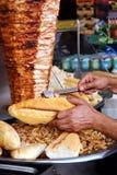 Kebab de Doner Foto de archivo libre de regalías