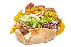Kebab de Doner del cordero Fotos de archivo libres de regalías