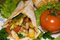 Kebab de Dyuner Imágenes de archivo libres de regalías