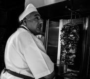 Kebab de Estambul fotos de archivo
