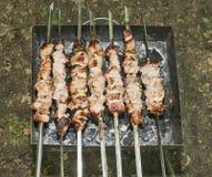 Kebab de Shish Photo stock