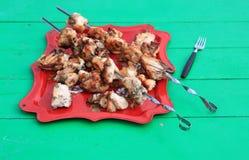 Kebab de Shish imagen de archivo