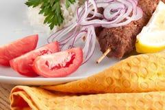 Kebab de Shish Fotos de archivo libres de regalías