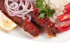 Kebab de Shish Imágenes de archivo libres de regalías