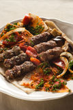 Kebab de Shish, cuisine libanaise. Photo stock