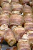 Kebab de Shish del cerdo y de una gallina imagen de archivo libre de regalías