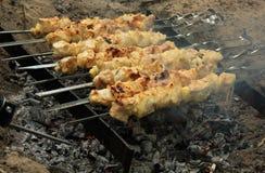 Kebab del cerdo Imagenes de archivo