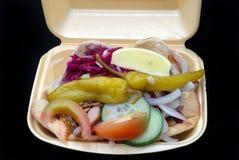 Kebab del pollo Imágenes de archivo libres de regalías