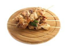 Kebab del pollo Fotografia Stock Libera da Diritti