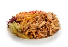 Kebab del pollo foto de archivo libre de regalías