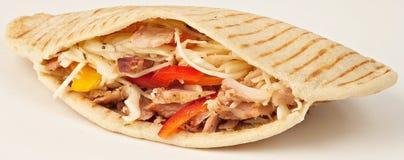 Kebab del pollo foto de archivo
