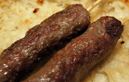 Kebab Delishious Стоковая Фотография
