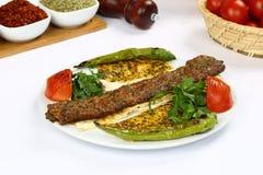 Kebab dell'Adana del turco Immagine Stock Libera da Diritti