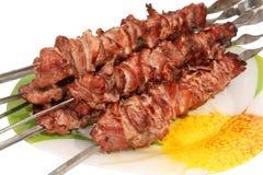 Kebab dell'agnello Fotografia Stock