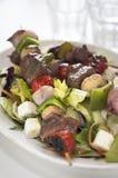 Kebab della bistecca Immagini Stock