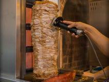Kebab della carne Fotografia Stock