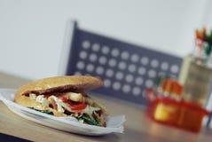 Kebab di Doner Immagini Stock Libere da Diritti