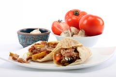 Kebab di Donner Fotografie Stock