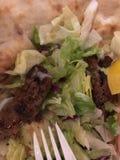 Kebab di Naan Fotografie Stock