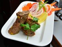 Kebab di Seekh Fotografia Stock