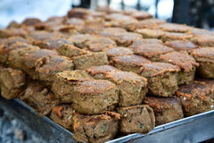 Kebab di Shami fotografie stock libere da diritti