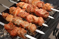 Kebab di Shish Immagine Stock
