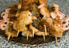 Kebab di Shish Fotografie Stock Libere da Diritti