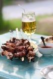 Kebab di Shish Fotografia Stock