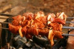 Kebab di Shish Fotografie Stock