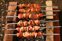 Kebab di Shish Immagini Stock